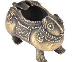 Bronze Tribal Hamster Ashtray