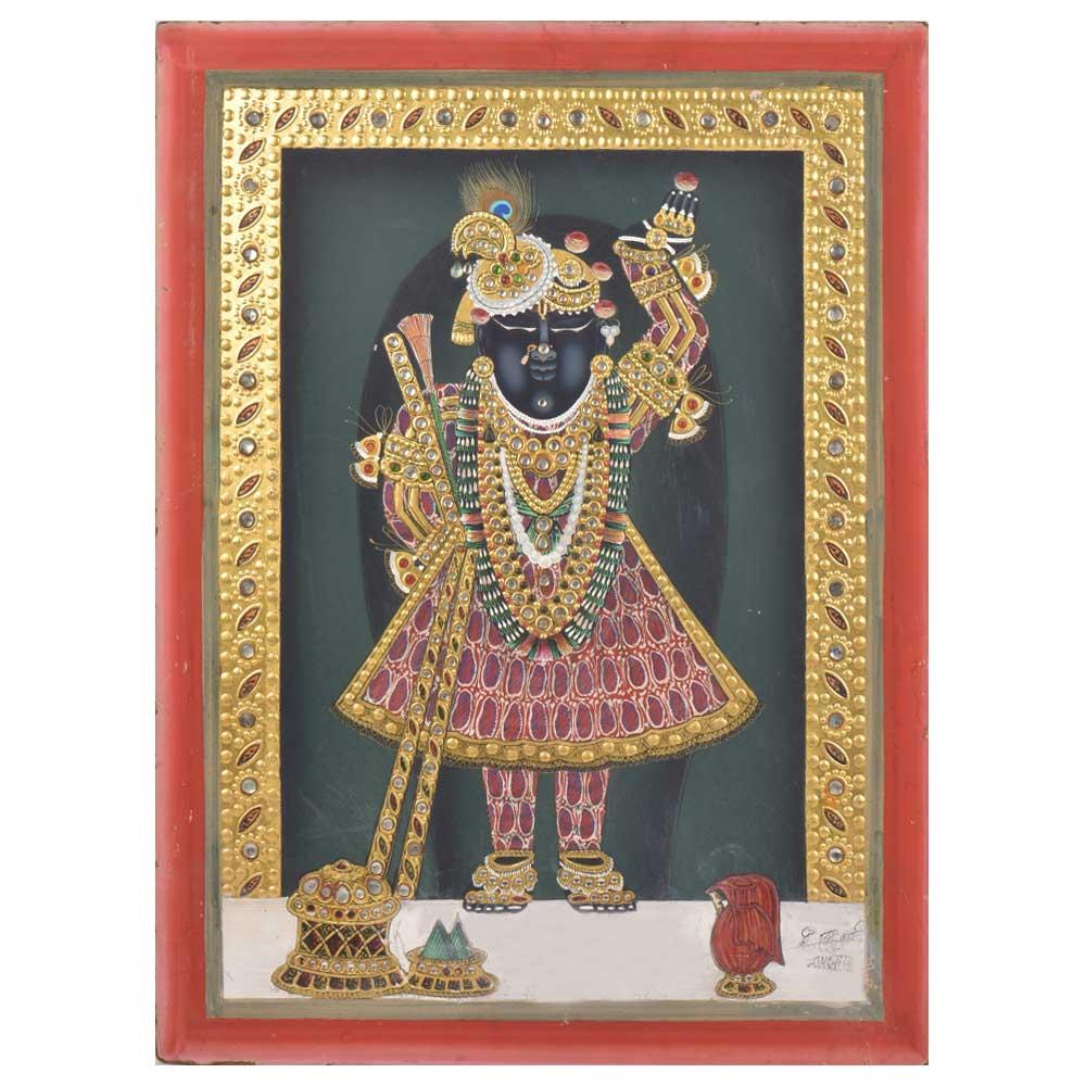 Tanjore Sreenathji Painting