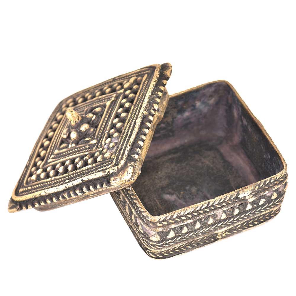 Bronze Rectangular Storage Box