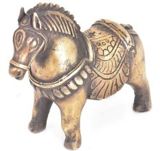 Vintage Traditional Standing Horse Statue