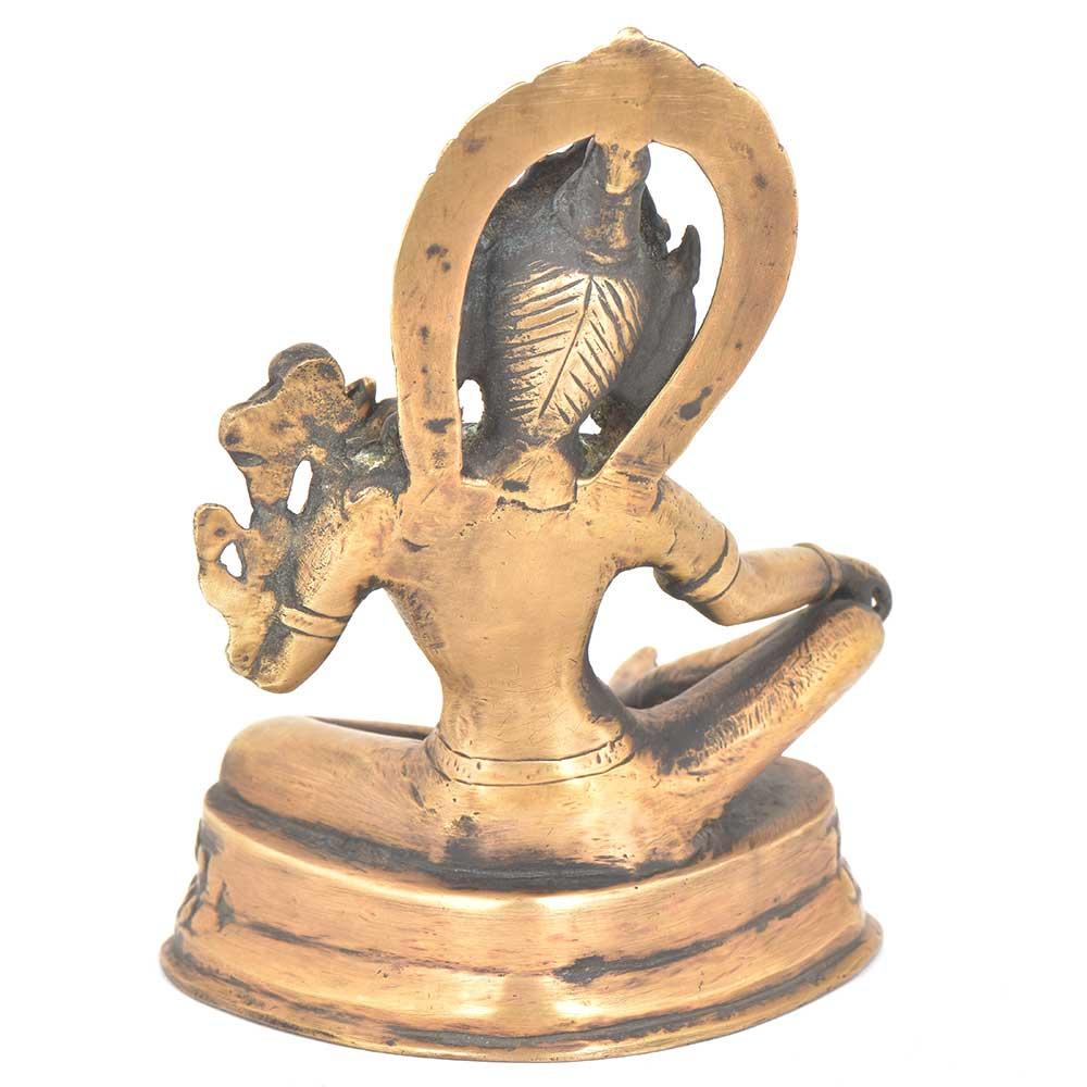 Brass Sculpture Buddhist Female Deity Statue