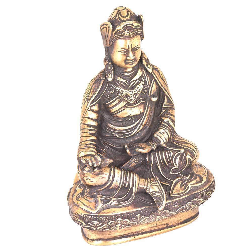 Brass Sitting Buddha Statue