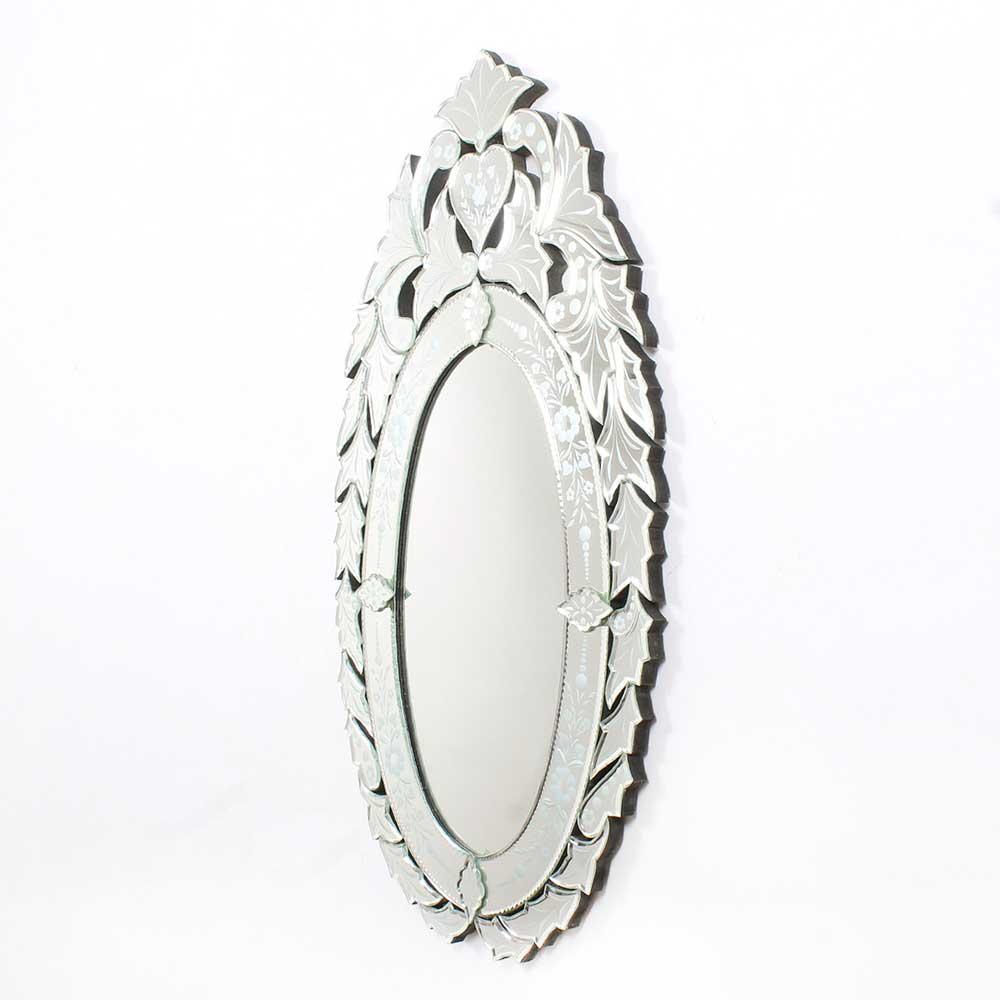 Oval Venetian Wall Mirror