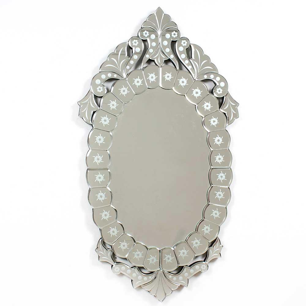 Elegant Oval Designer Venetian Mirror