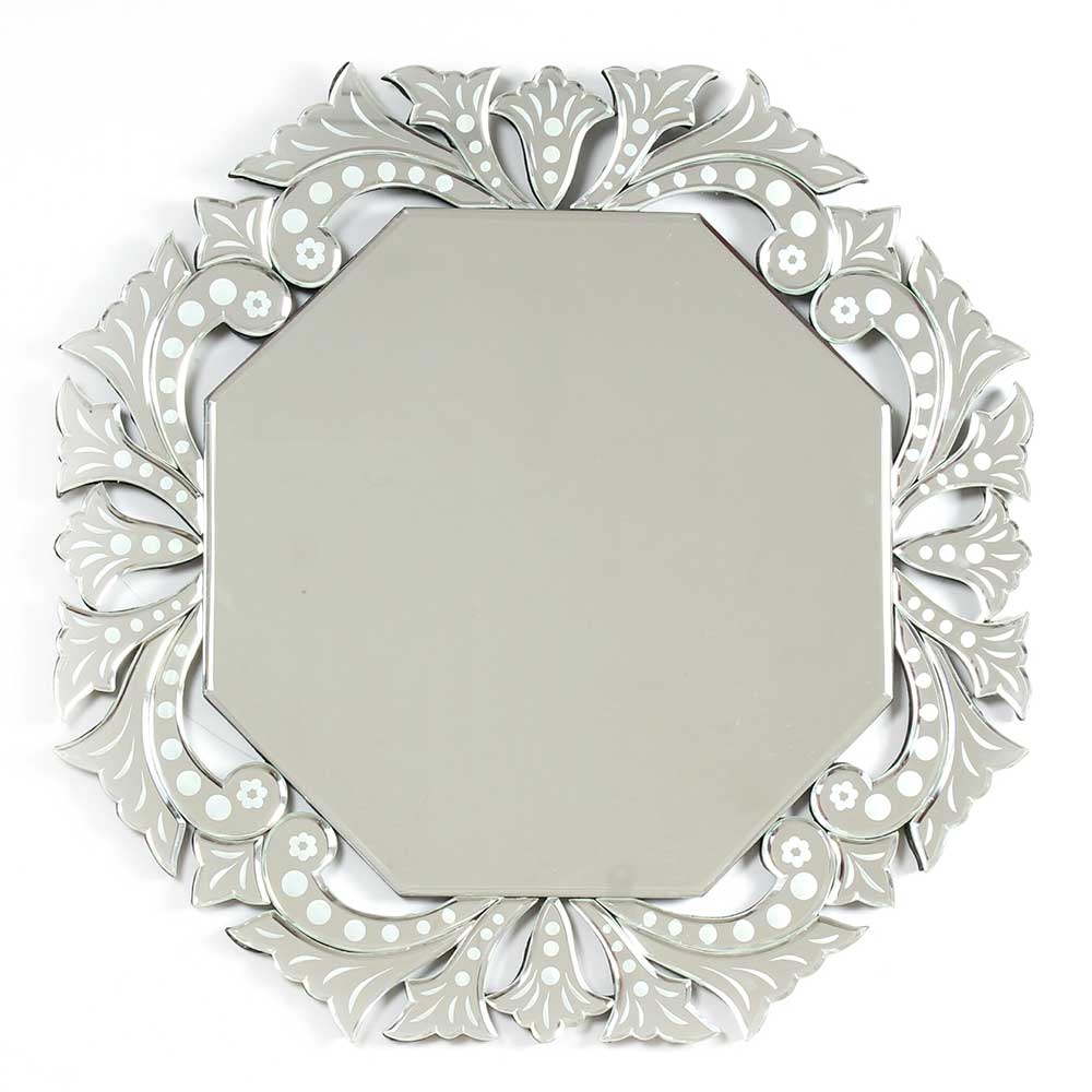 Ornate Octagonal Venetian Mirror