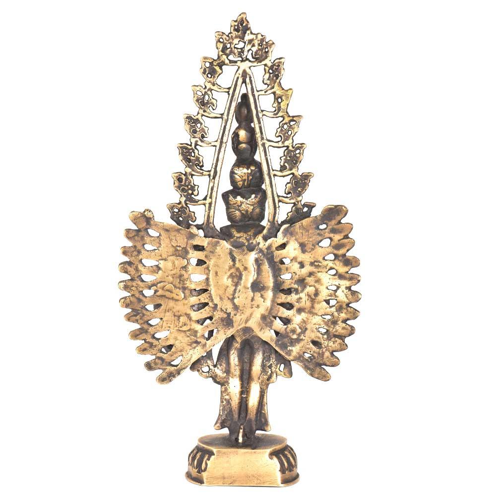 Tara Sculpture Buddhism Buddhist Brass Buddha Statue