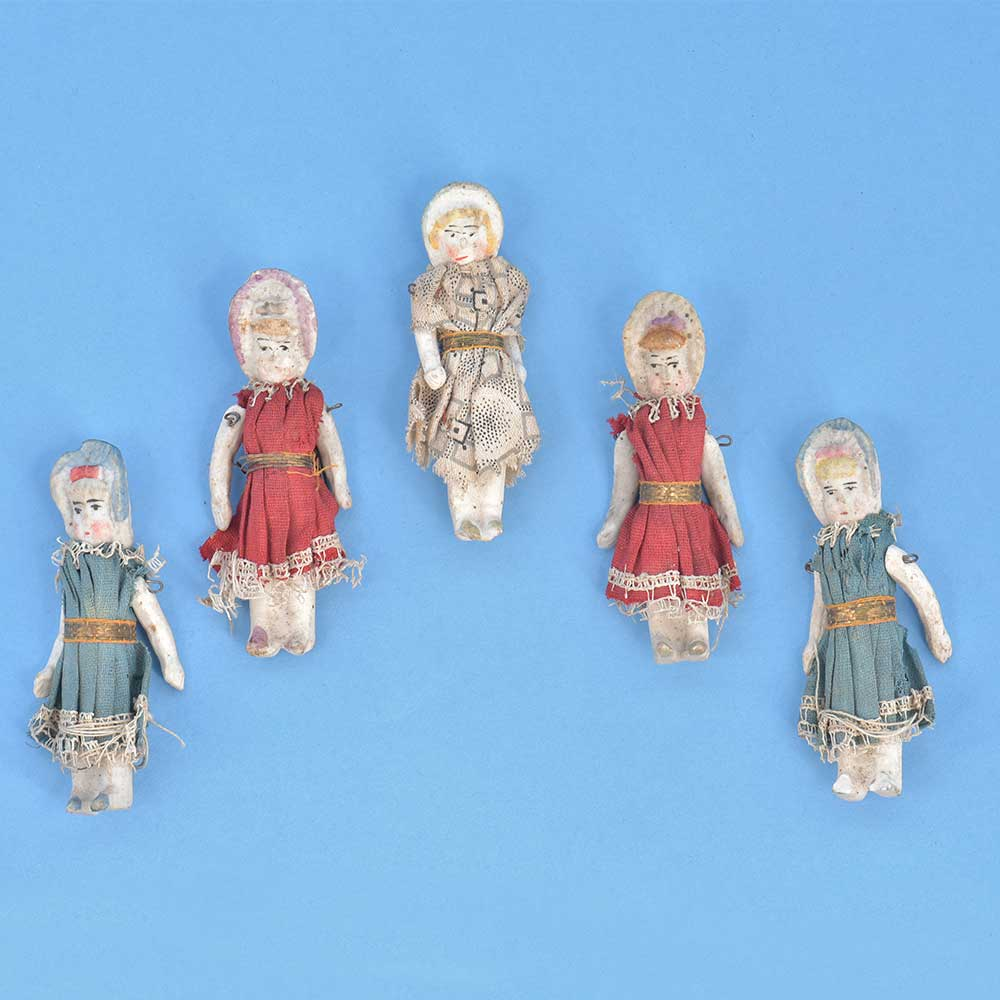 Old Porcelain Dolls Figurines