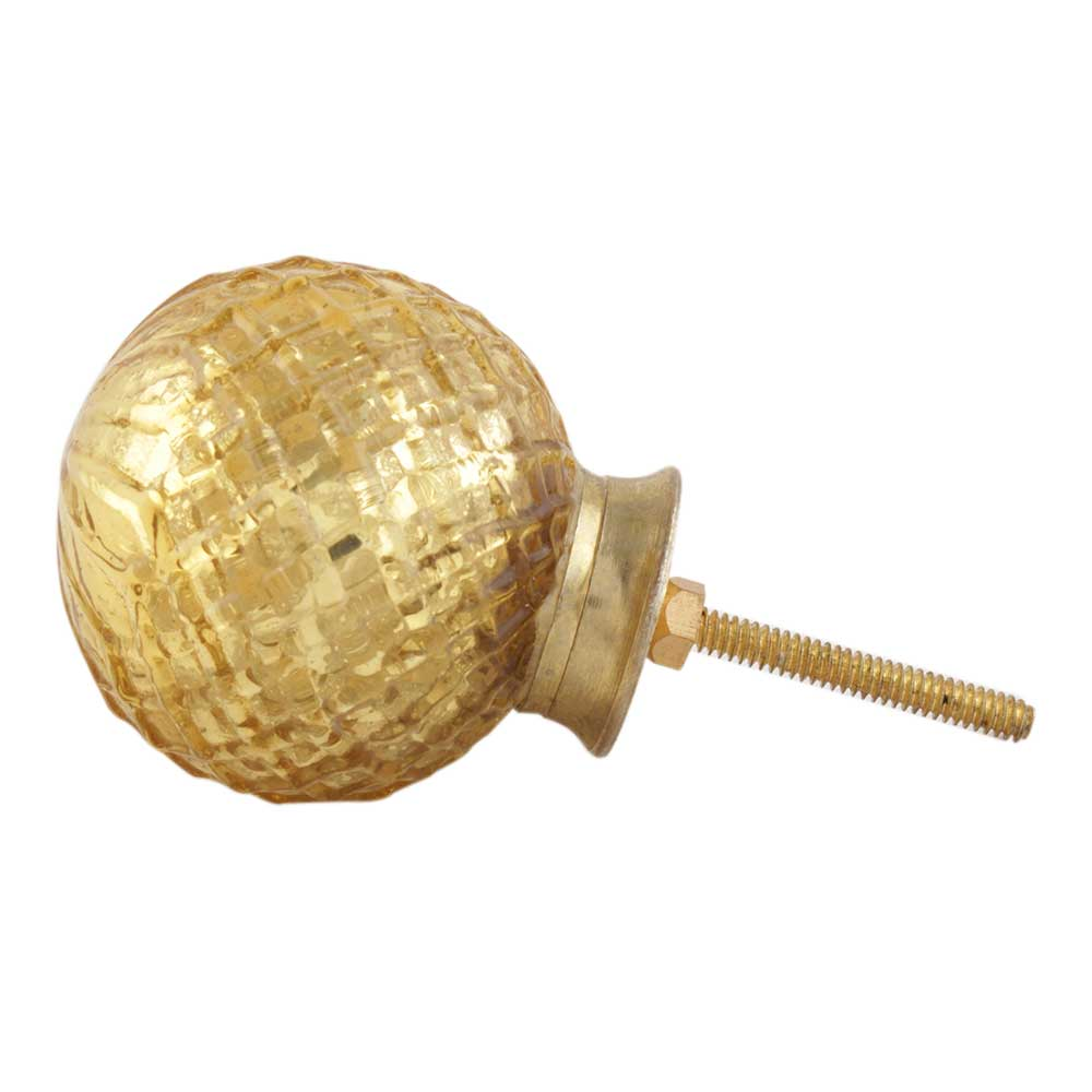 Golden Dome Mercury Glass Knob Online