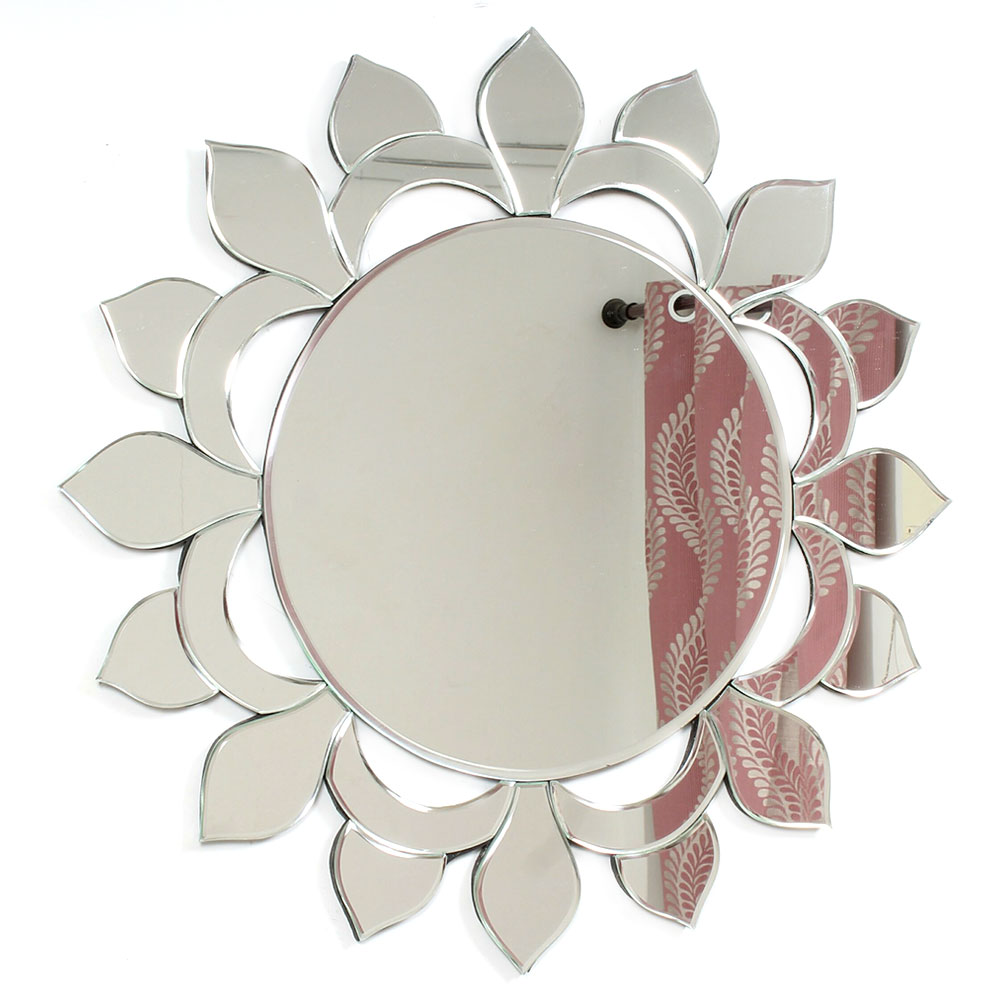 Circular Shaped Venetian Wall Mirror