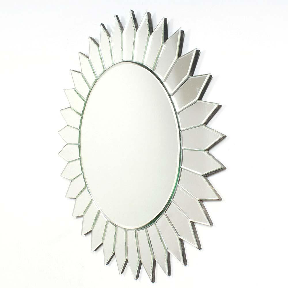 Sun Shaped Venetian Wall Mirror