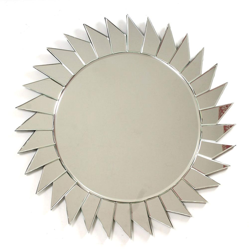 Handmade Sun Shaped Venetian Wall Mirror