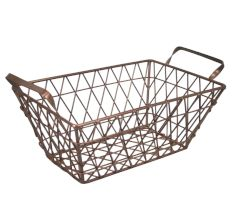 Iron Wire Basket Small