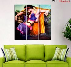 Romantic Premium Quality Canvas Wall Hanging
