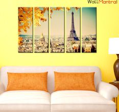 Eiffel Tower Premium Quality Canvas Wall Hanging