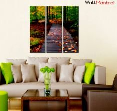 Autumn Forest Premium Quality Canvas Wall Hanging