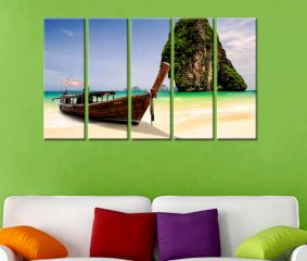 Beach Premium Quality Canvas Wall Hanging