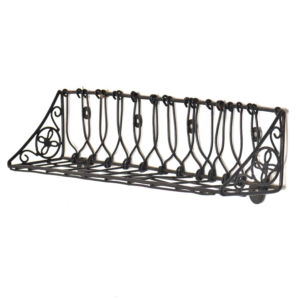 Wrought Iron Wall Planter Baskets