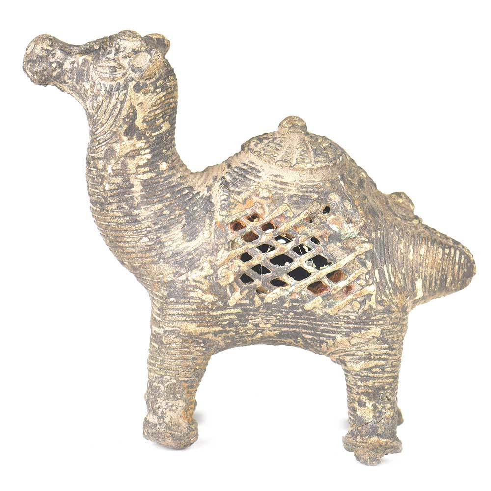 Brass Tribal Camel Incense Stick Holder