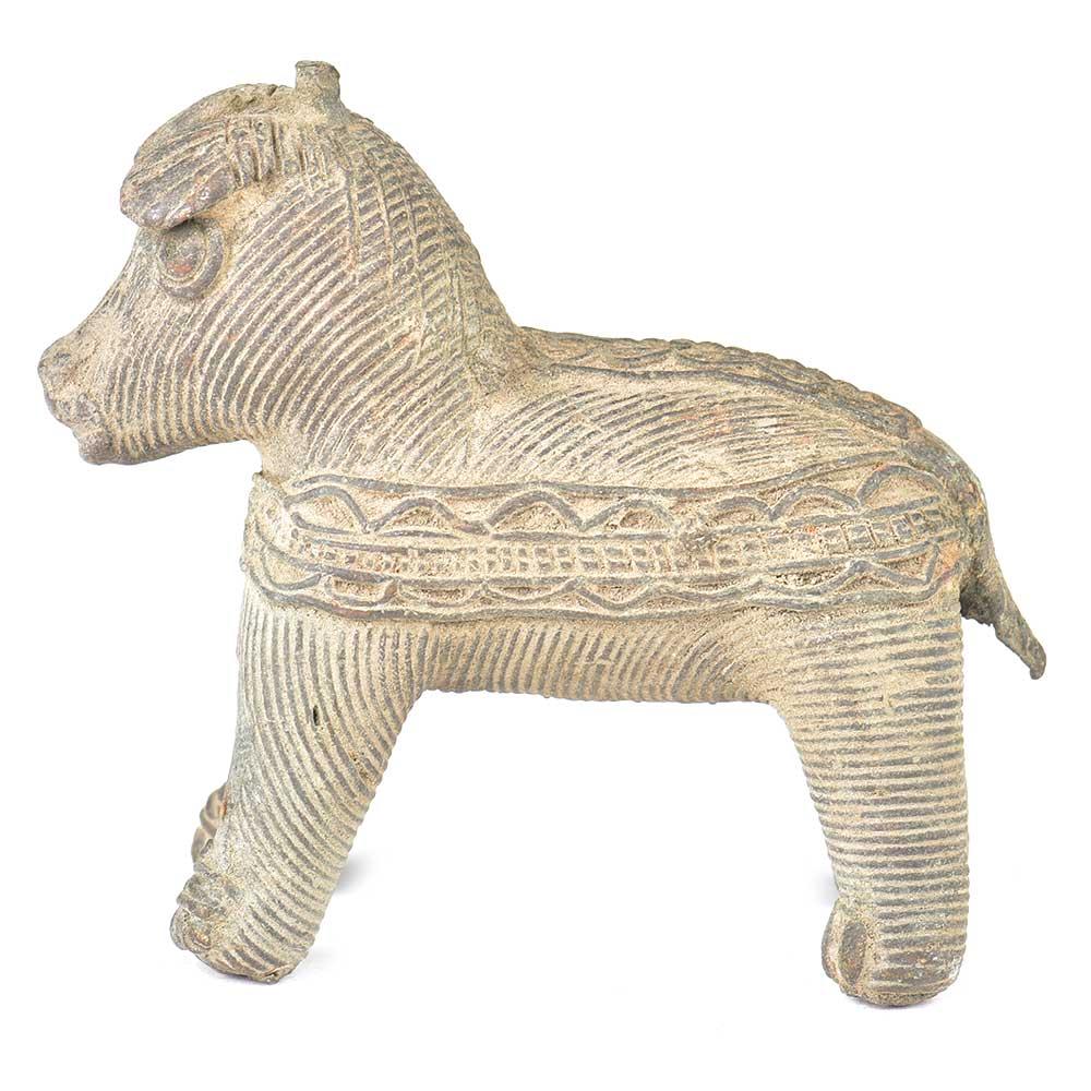 Brass Tribal Horse