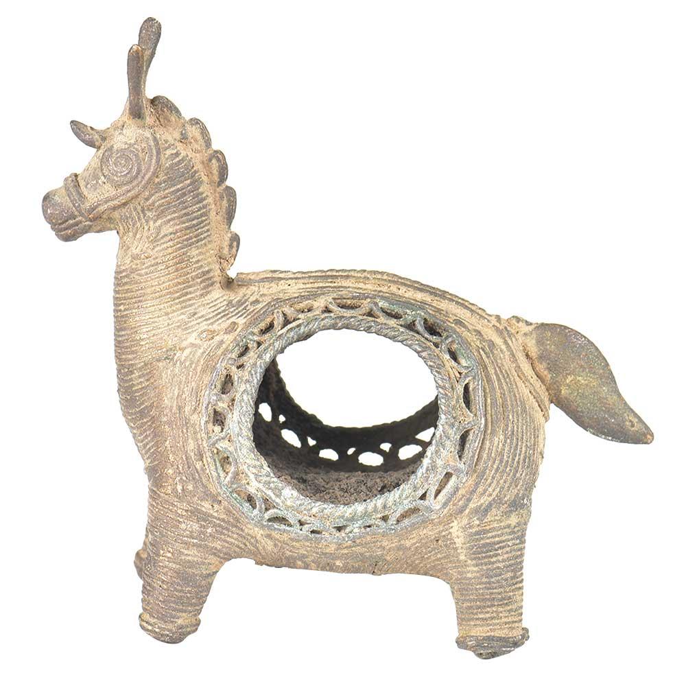 Brass Tribal Animal Napkin Holder