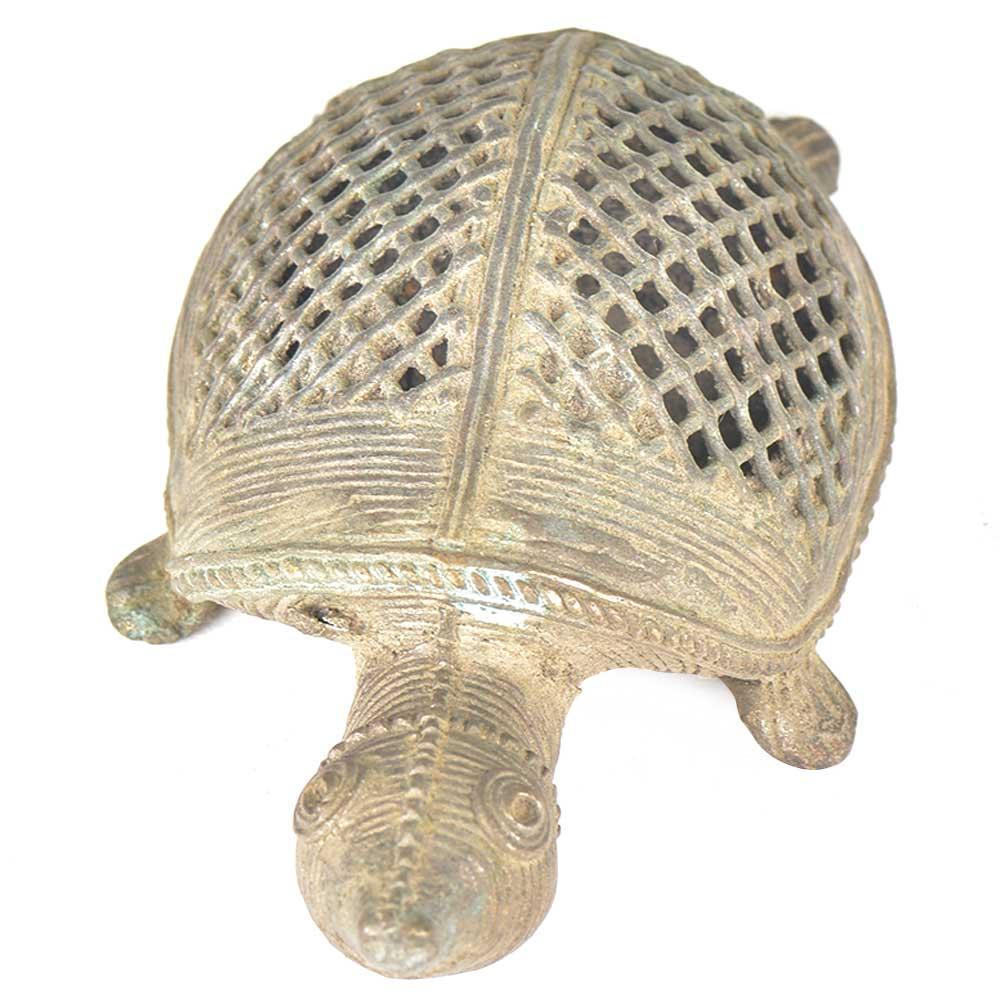 Brass Turtle Incense Stick Holder
