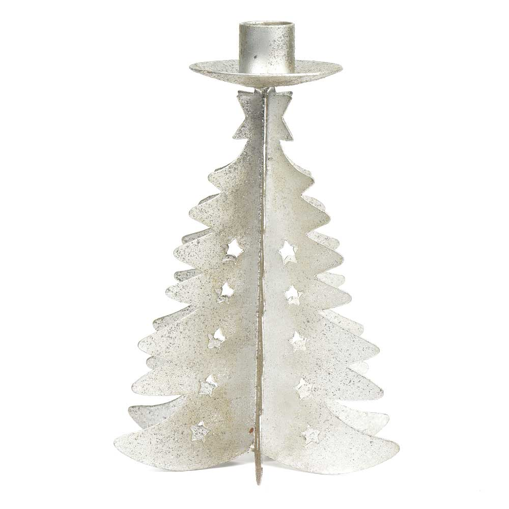 Christmas Tree Candle Holder.Traditional Christmas Tree Candle Holder