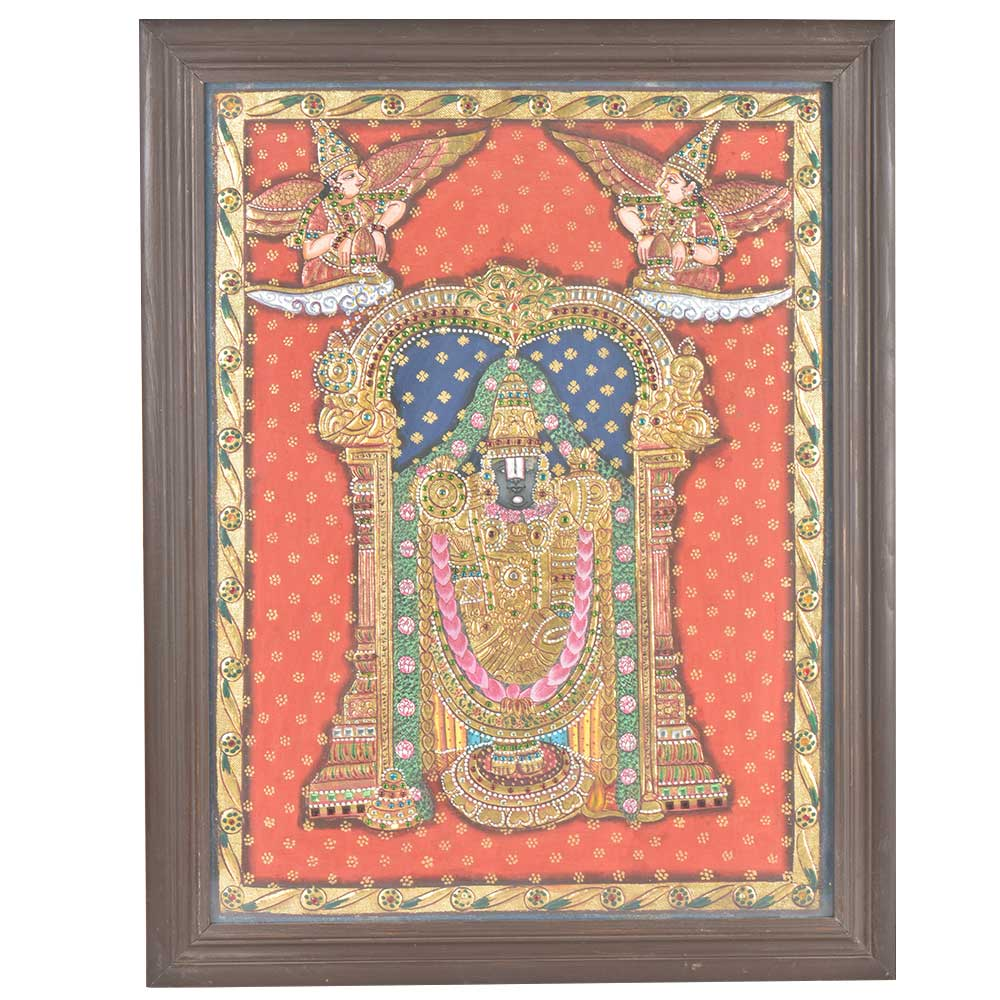 Balaji Tanjore Painting With Frame