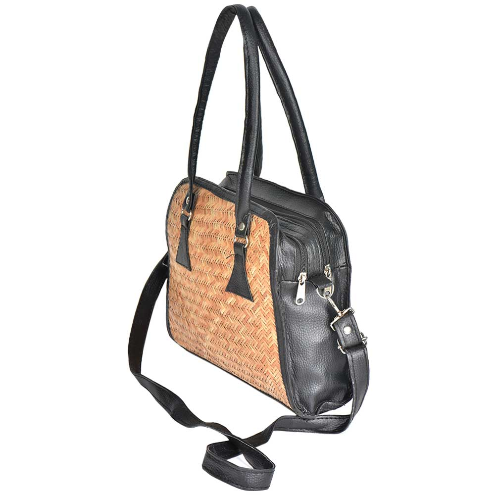 Handmade Black Frame Shoulder Bag