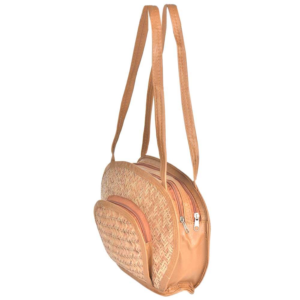 Stylish Eco Friendly Bamboo Straw Purse