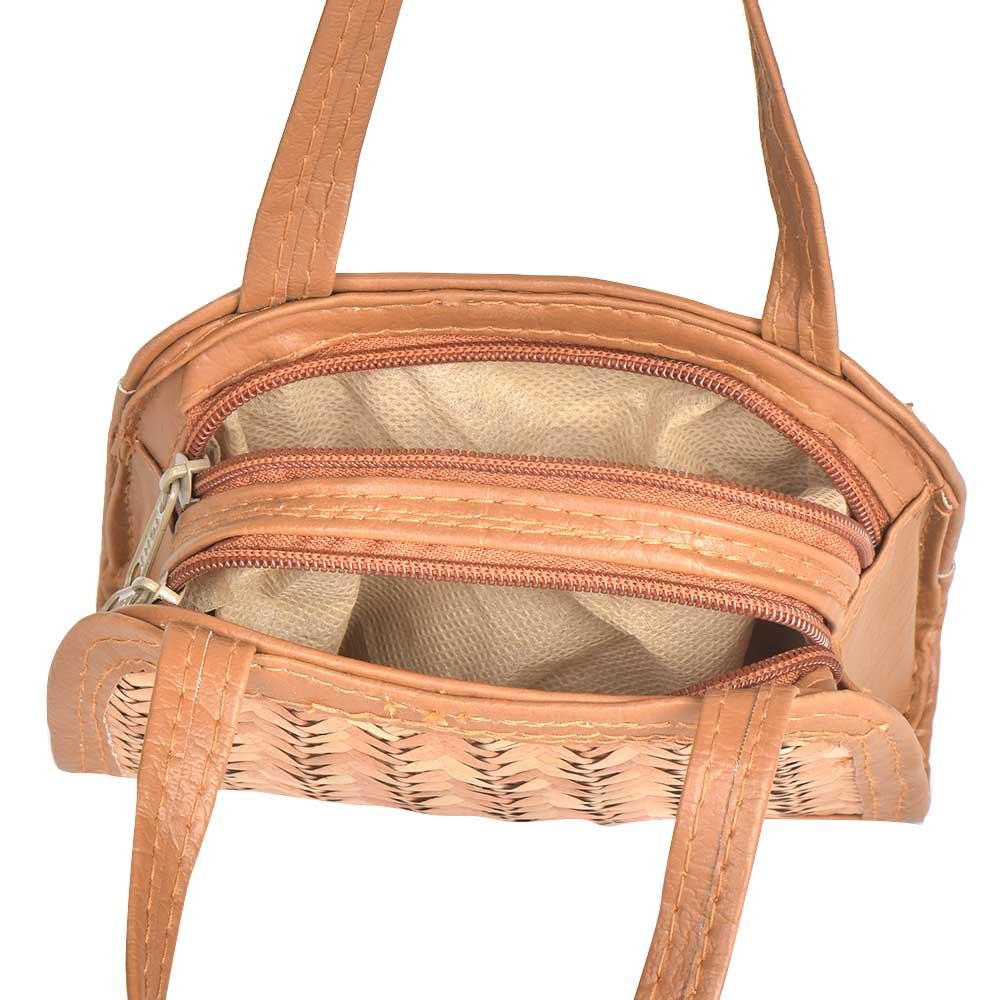 Bamboo Cane Straw Spacious Bag