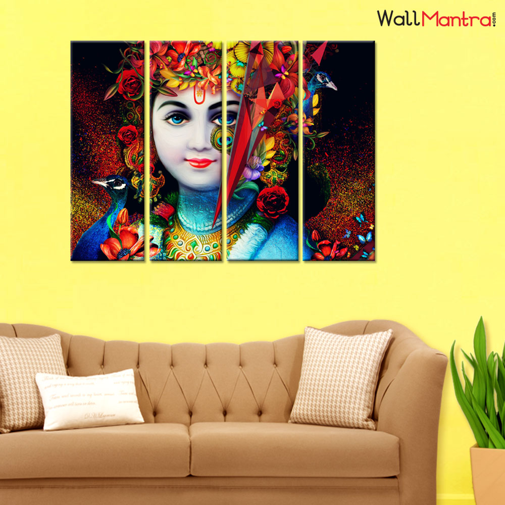 Krisha Premium Quality Canvas Wall Hanging