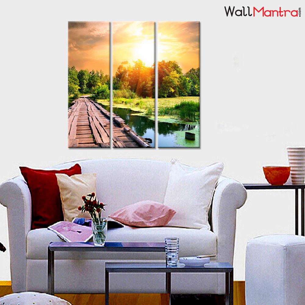Landscape Premium Quality Canvas Wall Hanging
