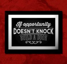 Motivational Quote Wall Painting