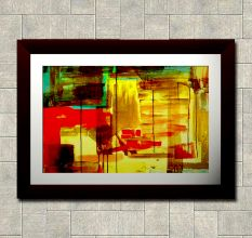 Abstract Modern Wall Painting
