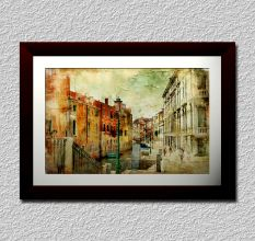 Painted Venice Wall Painting