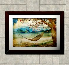 Relaxed Life Wall Painting