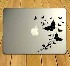 Peerless And Feminine MacBook Design Sticker