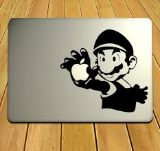 MacBook Decal For Super Mario Fans