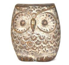 Brass Vintage Owl Paperweight