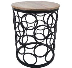 Designer Iron & Wooden Table