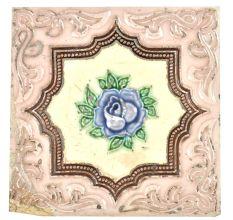 Blue Rose Ceramic Tile