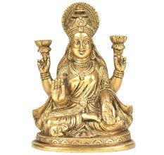 Brass Beautiful Gaja Lakshmi