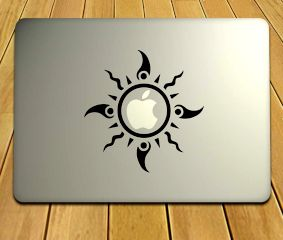 Ornate Laptop Decal For Your MacBook