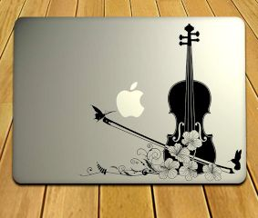 Musical Instrument MacBook Decal