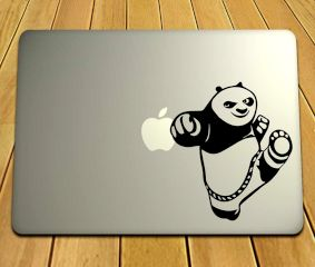 Kung Fu Panda Laptop Sticker