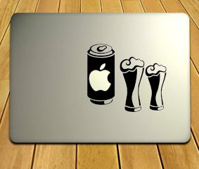 Groovy Laptop Sticker For MacBook