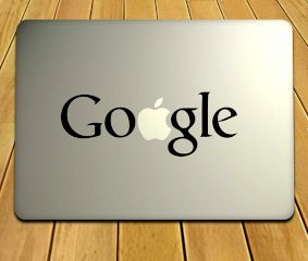 Google Themed Laptop Sticker For Your MacBook