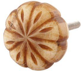 Brown Leaf Bone Big Knob