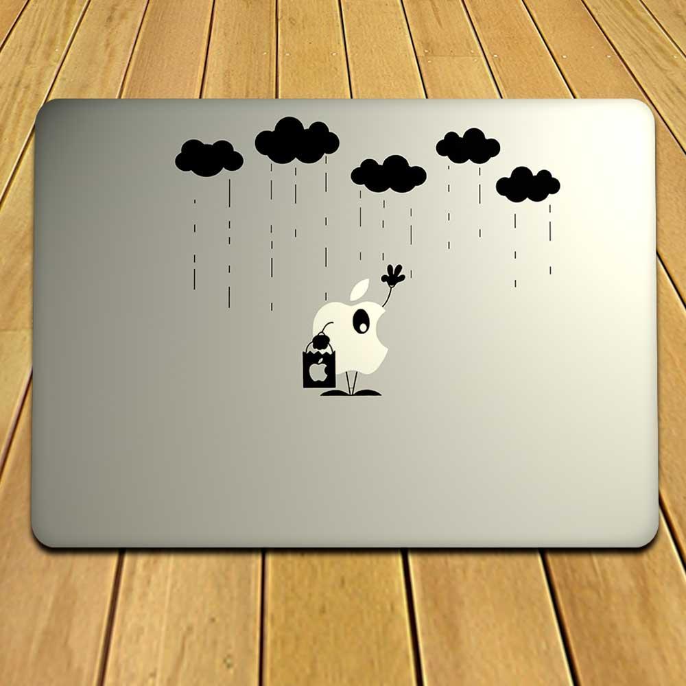 Rain MacBook Decal