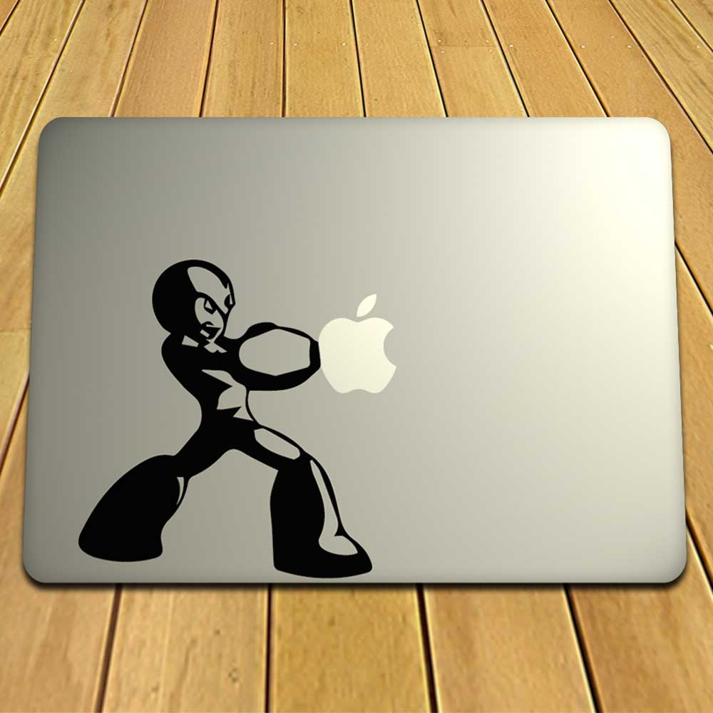 Playful Apple MacBook Decal For Your Laptop